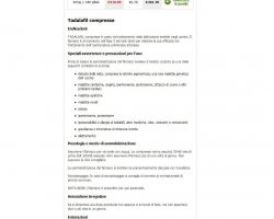 Acquisto Cialis Generico.Cialis Acuistare on line(Tadalafil).  Costo Cialis sin receta 10 mg, 20 mg, 40 mg. - acquistarecialisgenerico10mg.net