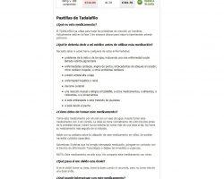 Comprar Cialis 10 mg, 20 mg, 40 mg. Precio cialis genrico sin receta.  Venta Cialis (Tadalafil baratos) - comprarcialis-generico.net