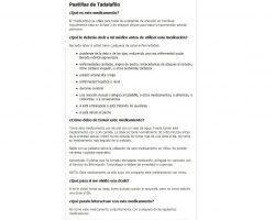 Comprar Cialis Generico sin receta. Precio Cialis 20 mg, 10 mg, 40 mg.Venta Cialis Espana. - comprarcialisgenericoes.net