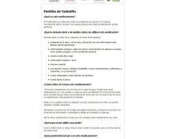 Comprar Cialis Generico 10 mg, 20 mg, 40 mg.Precio Cialis sin receta.Venta cialis Espaa. - comprarcialisgenericosinrecetaes.net