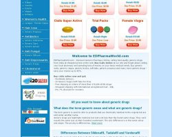 Buy Cialis Online at The Leading Generic Pharmacy | Buy Cialis Pills - edpharmaworld.com