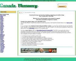 Canada Pharmacy. Prescription canadian drugs for less. - canada-pharmacy.com